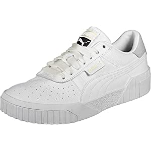 PUMA Women's Cali Wn's Low-Top Sneakers, White White, 5.5 UK