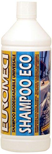 EUROMECI Shampoo Eco, Shampoo Ecologico per Imbarcazioni, 1.000 ml