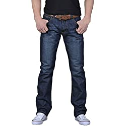 FRAUIT Männer Herren Herbst Winter Jeans Jeanshose Hip Hop ose Arbeit Lange Hosen Jeans Hosen Baumwolle Stretch Regular Fit Jeanshose Stonewashed Slim Fit Basic Style Hose Jeans Pants