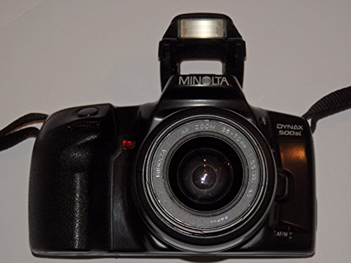 Galleria fotografica Minolta Dynax 500si–Nero–Analogico fotocamera reflex con obiettivo MINOLTA AF Zoom 35–70mm 1: 3.5(22)-4.5Ø 49# # SLR Camera # # Ingegneria–Testato by lll # #