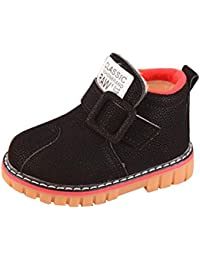 Todder//Little Kid//Big Kid Deesaly Baby Kids Fur Lined Cute Snow Boots Girls Boys Lovely Winter Warm Shoe