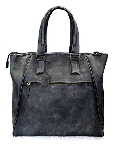 Bolso de cuero bolso de piel de mujer bolso mujer vintage bolso retro bolso de piel shopping bolso...