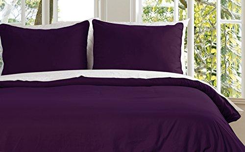 Lotus Home Mikrofaser Wasser und Schmutzabweisend Bettbezug Mini Set -