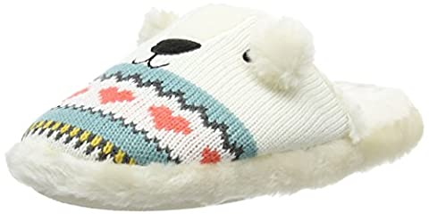 Aroma Home Shoes - Knitted Polar Bear - Sans chaussons de revêtement mixte adulte, Multicolore (Multicolor),