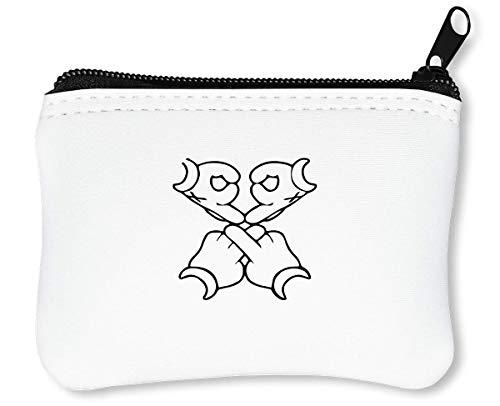OVO Cartoon Hands Cool Reißverschluss-Geldbörse Brieftasche ()