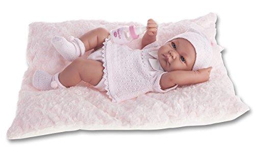 Bébé 40 cm Nouveau-né Nica Coussin