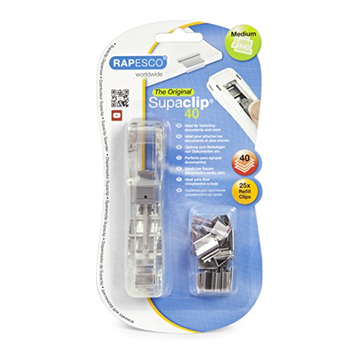 rapesco-supaclip-40-see-through-dispenser-with-25-stainless-steel-refill-clips