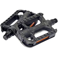 BIKE ORIGINAL Hybrid Bicycle Pedals Non-Slip Plastic