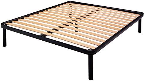 Bed store rete letto a doghe con piedi matrimoniale