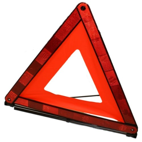 XtremeAuto® Car/Roadside Reflective Emergency Warning Triangle & Storage Case