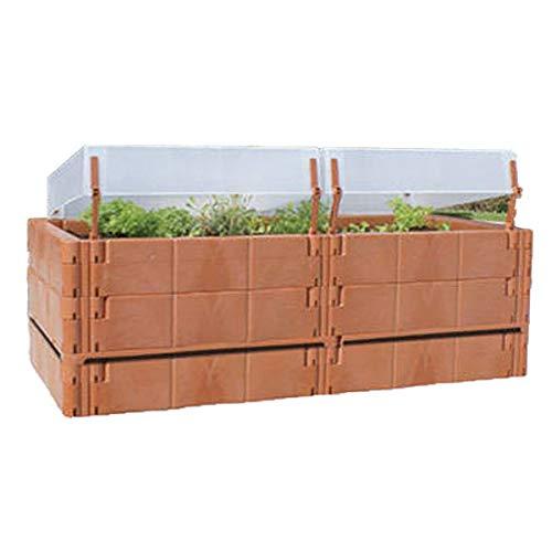 Juwel Balkon Hochbeet Terassenbeet Pflanzen terracotta 20275