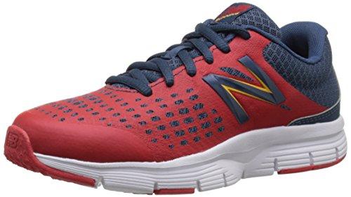 New Balance KJ775CRP Chaussures de sport Garçon Rouge - Rosso/Grigio