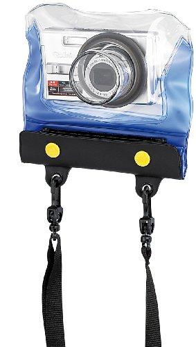 """Somikon Wasserdichte Kamerahülle: Unterwasser-Kameratasche""""Z-38"""" mit Objektivführung (Regenschutz-Case für Kamera)"""