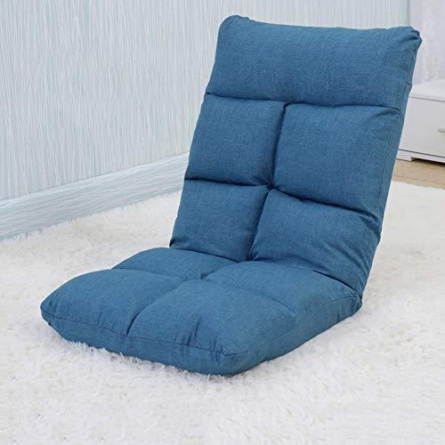 DULPLAY Tatami Verstellbar Stock-Gaming-Sofa Sessel,6-poligen gepolstert Faltender fauler reclinerxz Gaming Chair Faul, Sofa Für Home Office-B 55x50x68cm(22x20x27inch)
