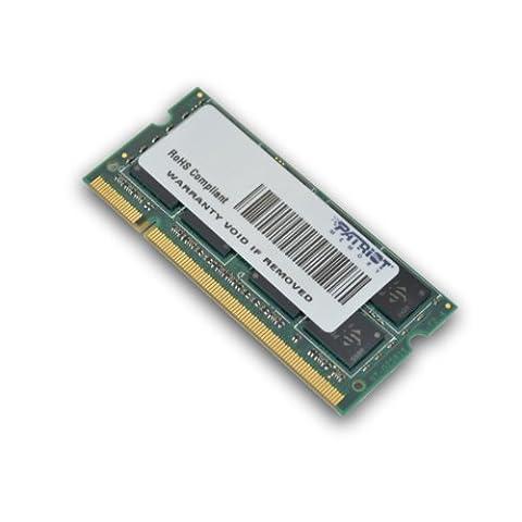 Patriot PSD22G8002S Signature DDR2 2GB (CL6 PC2-6400, 800MHz SODIMM Laptop