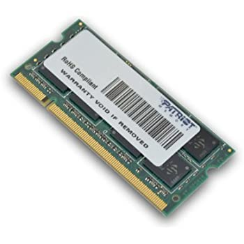 Patriot Memory 8GB DDR2 PC2-6400 SODIMM Kit 8GB DDR2 800MHz módulo de - Memoria (8 GB, DDR2, 800 MHz, 200-pin SO-DIMM, 2 x 4 GB, 1.8 V)