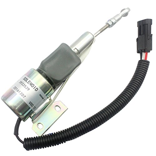 3932529sa-4756-1212V Cut Off Solenoid-sinocmp flammabriss Magnetschalter für Cummins Diesel Motor 6bt5.94bt5.9Stop Magnetventil Teile 3Monate Garantie - Cummins-diesel-motor