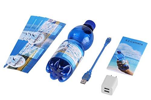 SANNCE Videocamera Nascosta Full HD 1080P Bottiglia d'Acqua Mini Camera Ricaricabile Manuale Italiano PDF, Motion Detection, Microfono Incorporato, supporta scheda SD fino a 32GB(non inclusa) - 8