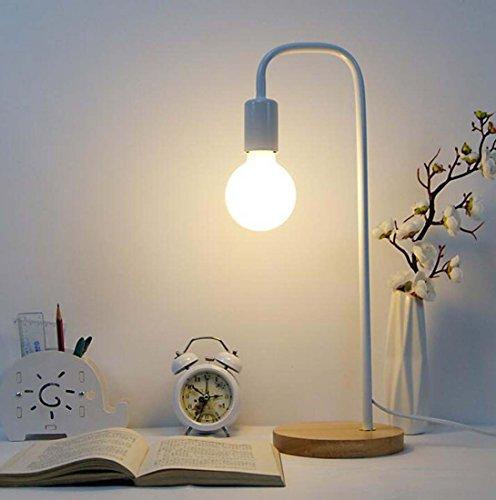 LED Schreibtischlampe, Augenschutz Einfache moderne Auge Leselampe Schlafzimmer Nachttischlampe enthält keine Glühbirnen XIAOXAIO