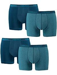 HEAD Boxer Hommes Boxer Shorts Sous-vêtements De 4 Pack noir 200
