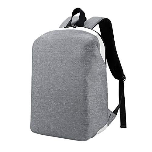 Große Kapazität Schulter Computertasche Anti-Diebstahl-Unisex-Studententasche, Business-Männer Computer Tasche lässig einfache wilde Reisetasche, wasserdichte Anti-Diebstahl-Handtasche Lässig Tasche,