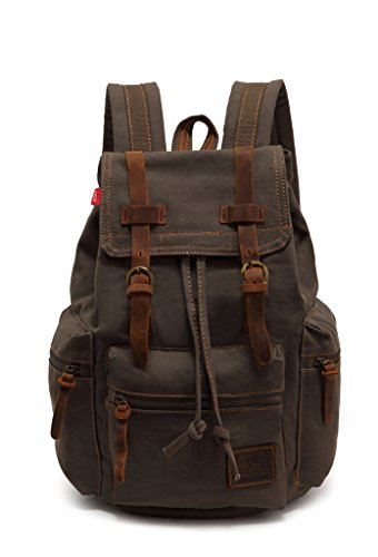 sechunk-unisex-canvas-leather-backpack-army-green
