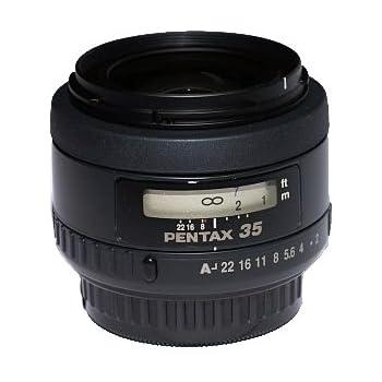 Pentax 22190 SMC FA Objektiv (35 mm, Lichtstärke 2) mit Hülle