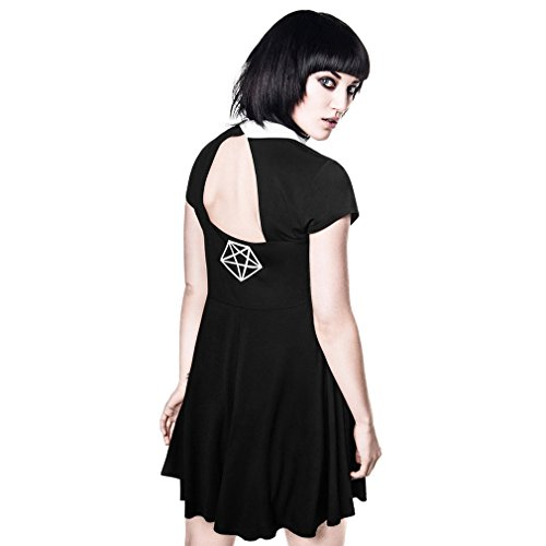 Killstar - Robe - Patineuse - Femme Noir
