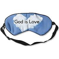 Sleep Eye Mask God is Love Lightweight Soft Blindfold Adjustable Head Strap Eyeshade Travel Eyepatch E11 preisvergleich bei billige-tabletten.eu