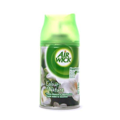 Airwick-4x Air Wick Freshmatic Max Lufterfrischer Nachfüller 250ml Blumen, Weiß