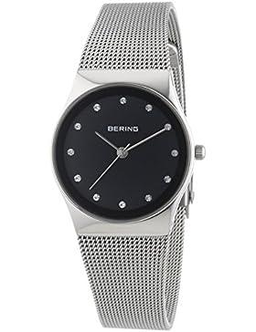 Bering Time Damen-Armbanduhr XS Analog Quarz Edelstahl 12927-002