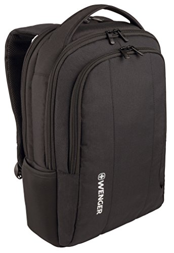 Wenger 600634 Surge – Mochila para portátil de 15,6″, color negro