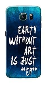 Samsung Galaxy S6 Edge Back Cover Premium Quality Designer Printed 3D Lightweight Slim Matte Finish Hard Case Back Cover for Samsung Galaxy S6 Edge by Tamah