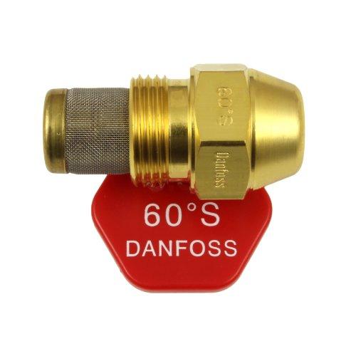Danfoss Oil Fired Boiler Burner Nozzle 3.00 x 60 S USgal/h ° Degree Spray Pattern 3.0 Heating Jet 11.6 Kg/h