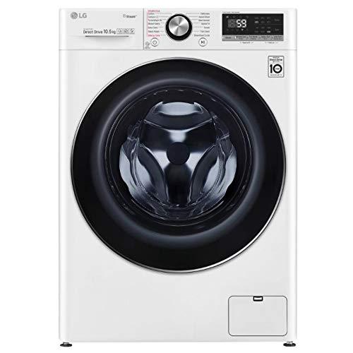 LG V7 F4V710WTS Wifi Connected 10.5Kg Washing Machine White