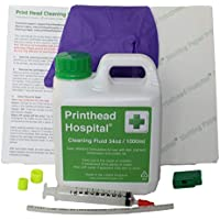 Printhead Hospital Cleaning Kit for Epson Canon Brother and HP printers - 34oz / 1000ml