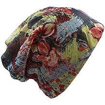 Las Mujeres de Moda Spring Hat Brand Caps Bufanda Dos Casual Casual Otoño Adulto Floral GirlS