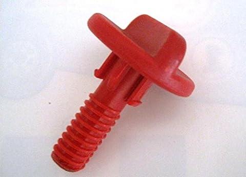 Lascal Vis 4,5à hauteur réglable Rouge pour buggy board Maxi,