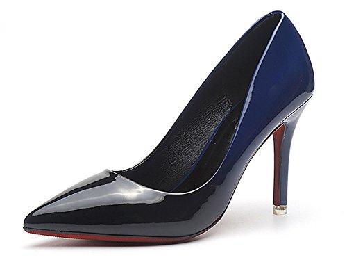 Sexy Ago Alto Tacco Sera Aisun Blu Caviglia Donna Scarpe UnqnWwRgx