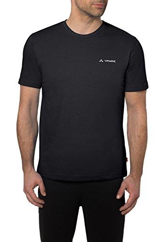 VAUDE Herren T-shirt Brand, Schwarz, L -