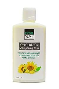 CytolBlack Shampooing Doux Soin Capillaire Revitalisant Cheveux Fragilisés Abimés Et Ternes 220ml