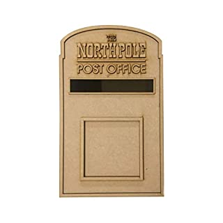 PixieBitz Christmas Santa Party Post Box - North Pole 1 - Father Christmas Mailbox