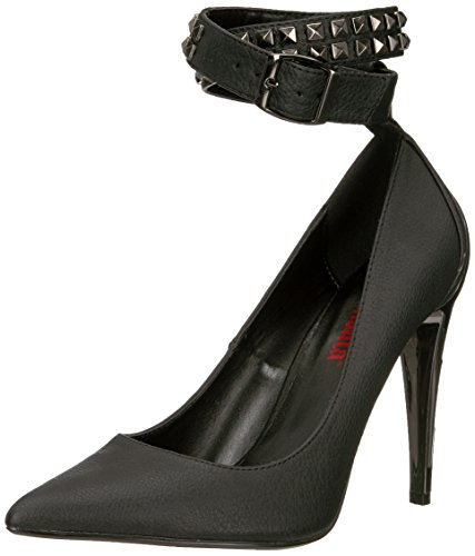 Demonia VOLTAGE-05 Damen Pumps Blk Vegan Leather