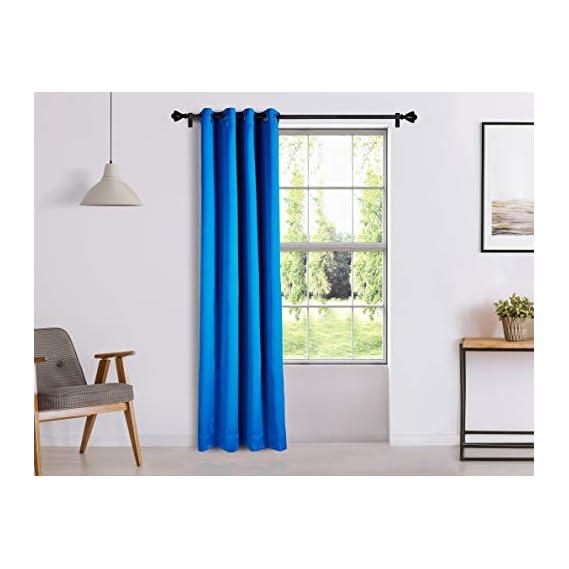 Amazon Brand - Solimo Room Darkening Blackout Curtain