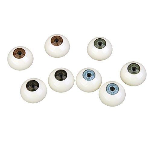 pfel Kunststoffaugen Puppen Augen Halloween Deko 26mm (Halloween-augäpfel)