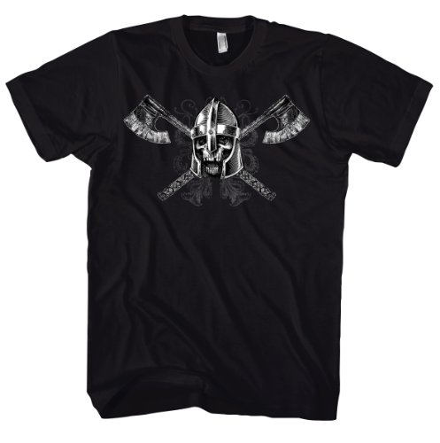 Rock Style Warrior Of Doom 700226 T-shirt Schwarz