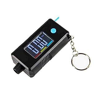 Favourall 2 in 1 Digital LCD Reifenmessgerät für Reifendruck und Profiltiefe und Schlüsselanhänger für Autos, LKWs und SUVs