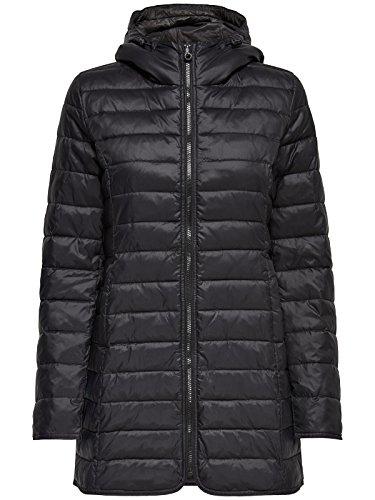 ONLY Damen-Mantel Tahoe Coat Übergangsjacke Freizeitmantel, Farbe:Grau, Größe:XS - 3