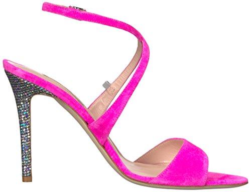 SJP by Sarah Jessica Parker Damen Elektra Riemchensandalen Pink (Candy Suede)