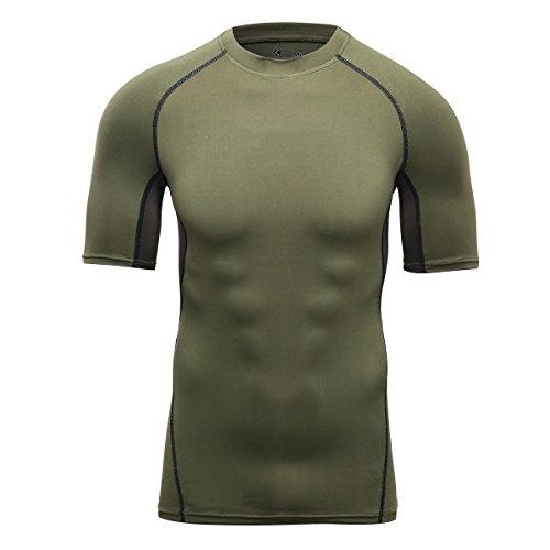 Cody Lundin® Herren Kompression T-Shirt